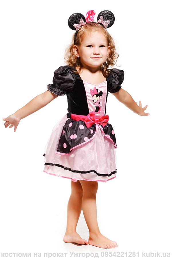 Міні Маус плаття на прокат дісней персонаж Ужгород для дівчинки