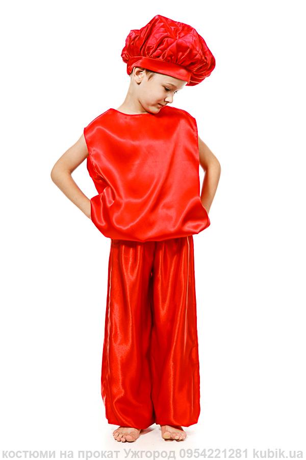 костюм помідор на прокат Ужгород