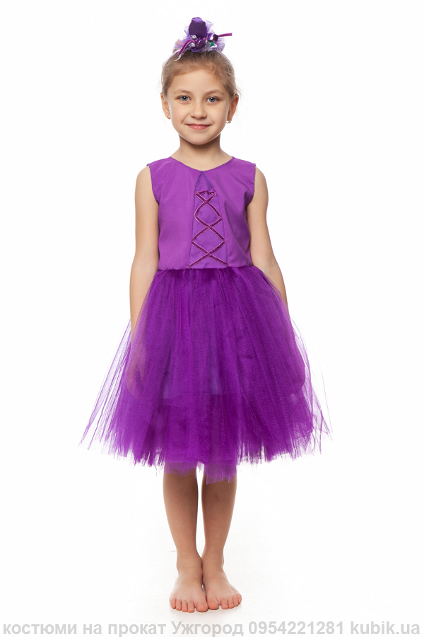 фіолетове плаття