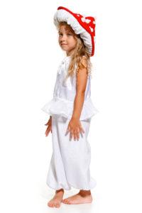 костюм грибочка для дівчинки, мухоморчик в садочок в Ужгороді