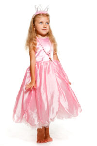 Рожева квіточка, ексклюзивна Дюймовочка, рожеве плаття для дівчинки на прокат в Ужгороді