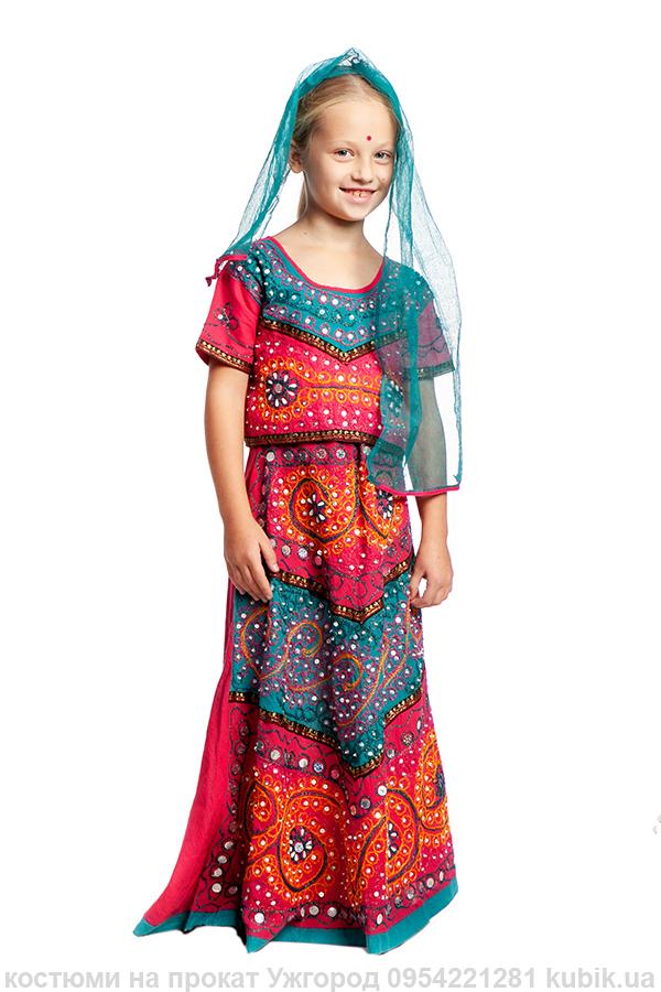 народи світу. Індійський дитячий костюм на прокат