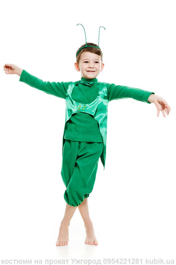 костюм на прокат в Ужгороді Коник-стрибунець (кузнєчик)