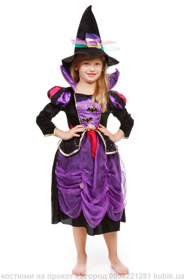 костюм плаття для хеловін Чародійка. Відьма. Чаклунка. на прокат в Ужгород