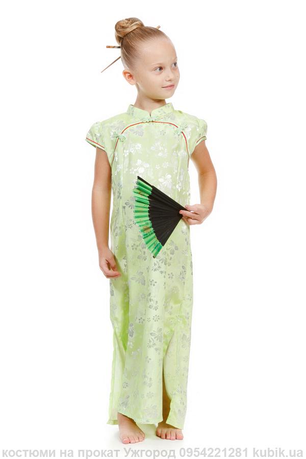 Плаття китайський стиль, східний стиль на прокат. Костюм китаяночки в Ужгороді